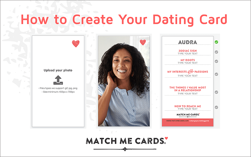 How to Create Your Dating Card