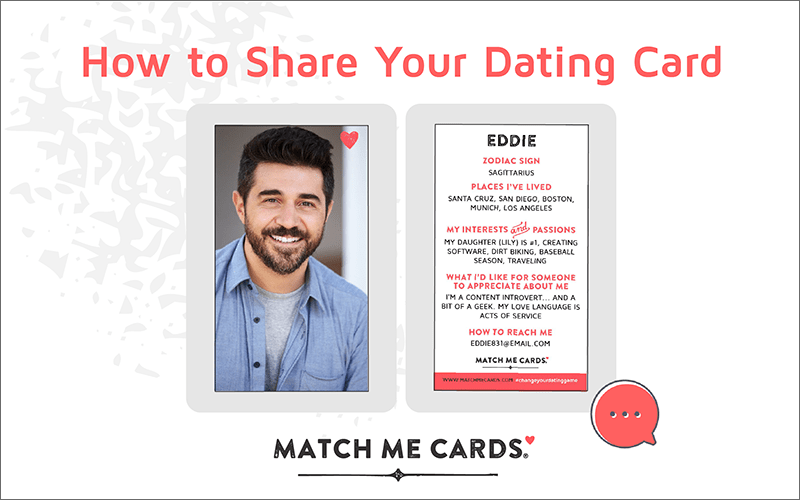 How to Share Your Dating Card
